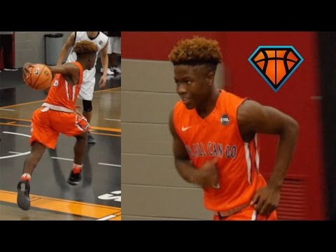 7th Grader Zion Harmon Is The YOUNGEST Player To Ever Play In The EYBL!!   Elite 2021 Point Guard