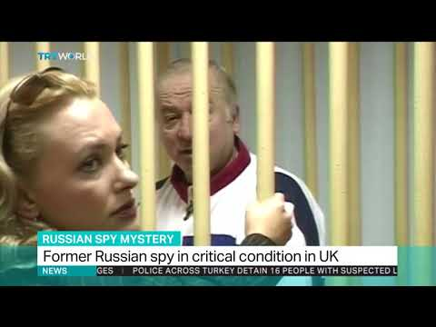 Ex-Russian spy critically ill after substance exposure in UK