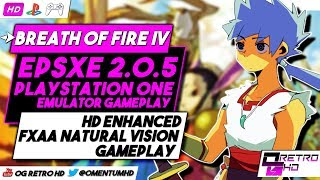 Breath of Fire IV    ePSXe v2.0.5 - PS1 Emulator PC Gameplay   HD - 30ᶠᵖˢ