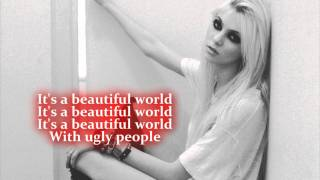 The Pretty Reckless - Ugly People [With Lyrics]