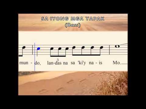 M06c Sa Iyong Mga Yapak (Bass)