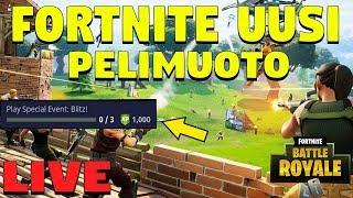 UUS PELIMUOTO BLITZ TULI! | ROAD TO 6.1K | FORTNITE LIVE