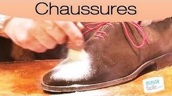 Comment enlever une tache de gras sur chaussures en daim ?