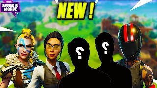 The 5 New Future Heroes of Saving the World! Fortnite Save the New World!