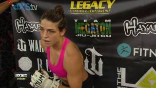 mackenzie dern scores her second win with a crazy submission   legacy 61 highlights