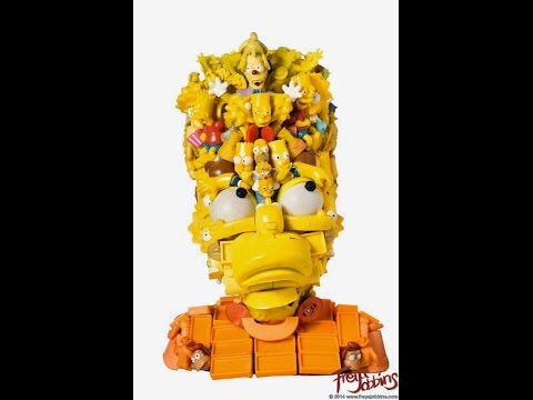 17 Cool Head Sculptures from Recycled Toys