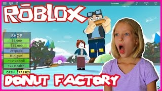 ROBLOX Donut Factory! I'm making my own DONUTS!