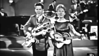 The Collins Kids - Night Train To Memphis (STAR ROUTE Country Music TV Show - 1964)