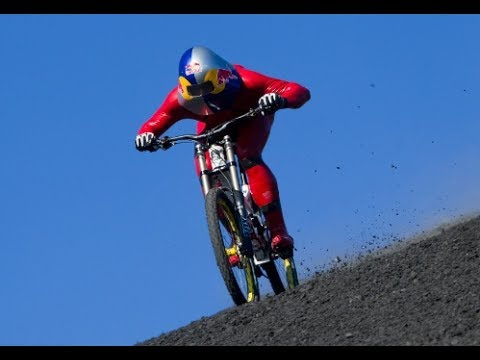 WORLD SPEED RECORD ON A MOUNTAIN BIKE