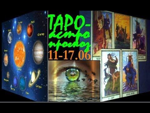 РЫБЫ. ТАРО-астро прогноз на 11-17.06.2018.Меркурий в Раке.Венера во Льве.Новолуние