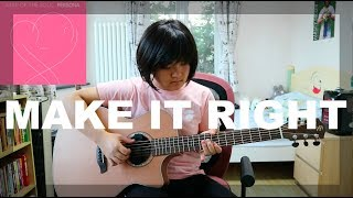 Download Make It Right - BTS (fingerstyle guitar cover) (free tabs)