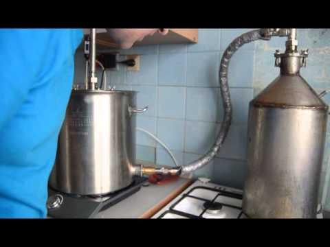 Видео парогенератор для самогонного аппарата купить пивоварню домашнюю владимир