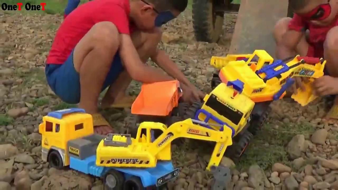 Backhoe Loader for Children - Backhoe, Excavator ...