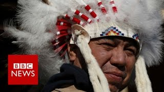 Standing Rock protest  Sioux tribe in North Dakota hail it an  historic decision    BBC News