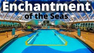 Enchantment of the Seas Royal Caribbean Video Tour Walkthrough