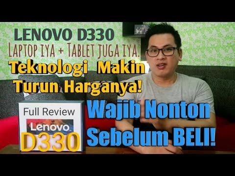 LENOVO D330 Laptop + Tablet Full Review Wajib Nonton Sebelum Beli!