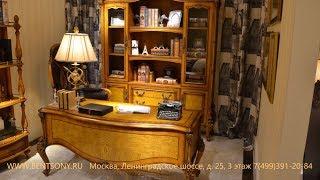 """Видео обзор: Кабинет """"Дакота М18"""" - Стол кабинетный,  Кресло кабинетное, Шкаф книжный,  Этажерка"""
