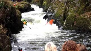 2016 Teifi Tour reaches Cenarth Falls