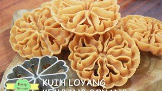 Kuih Loyang/ Kembang Goyang Sedap Tanpa Berminyak