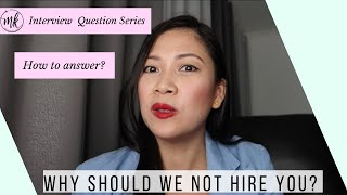 Flight Attendant Interview Questions | Why should we NOT hire you? | How to be a Flight Attendant? |