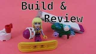 Lego Snowboard Tricks Friends Set 30402 Build and Review