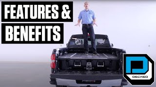 Decked Pickup Truck Bed Storage System Features & Benefits Video