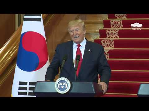 President Trump Holds a Joint Press Conference with the President of the Republic of Korea