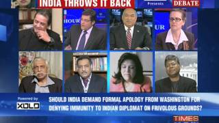 The Newshour Debate: India hits back  - Part 2 (17th Dec 2013)