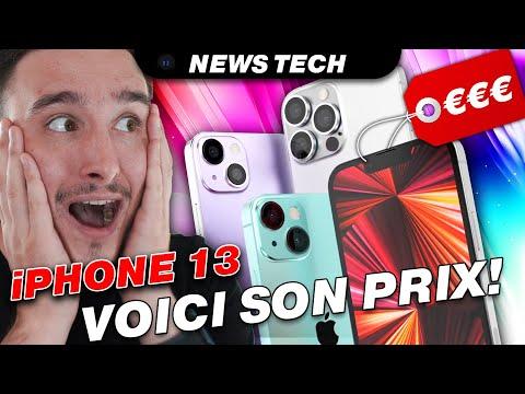 iPhone 13:  Son PRIX dévoilé? Airpods 3 & Apple Watch Series 7