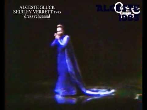 SHIRLEY VERRETT AS ALCESTE LAST ARIA with recitativ (1985)
