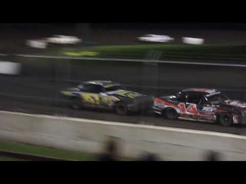 July 15, 2018 IMCA Hobby Stock Feature at Benton County Speedway