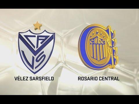 Vélez vs. Rosario Central. Fecha 2. Torneo de Primera División 2016/2017. FPT