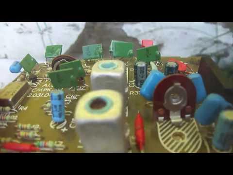 Обзор плат от телевизоров содержанием конденсаторов км. №2