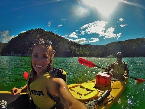 Abel Tasman Kayaking | NZ Vlog 13