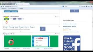 طريقة اضافة 5000 صديق على الفيس بوك 2014 من قبل علي الزلزلي hd
