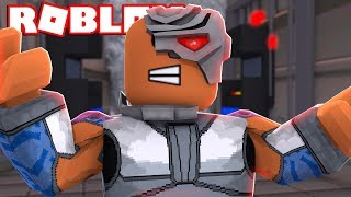 CYBORG SUPERHERO IN ROBLOX! (ROBLOX JUSTICE LEAGUE)
