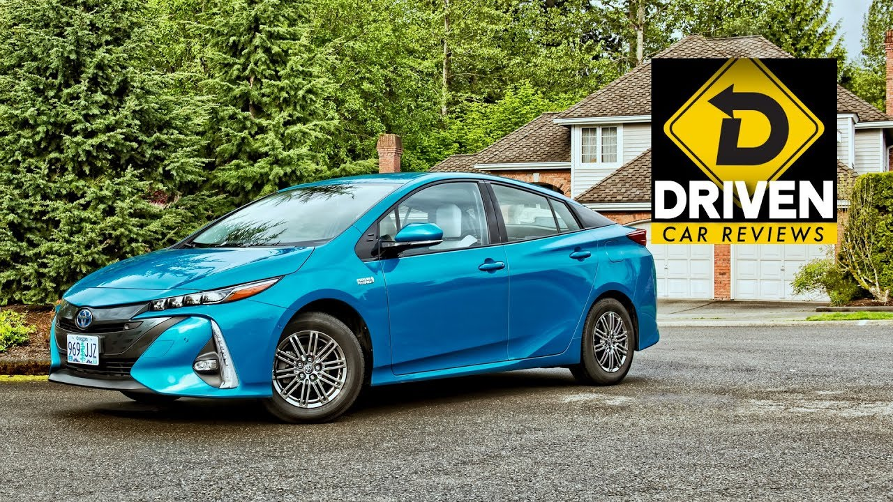 2017 Toyota Prius Prime Advanced Car Review Youtube