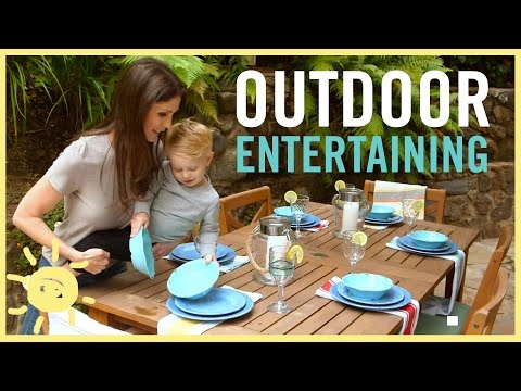 MOM STYLE | Outdoor Entertaining