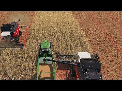 EFFEKTIV HARVESTING | Farming Simulator 19