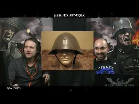 Heroes & Generals Devstream #19: Live from Copenhagen