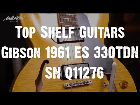 Top Shelf Guitars - Gibson 1961 ES-330TDN VOS SN Q11276