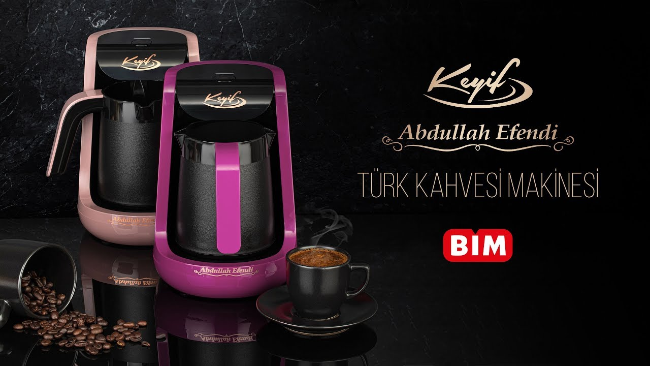 Bim Abdullah Efendi Keyif Turk Kahvesi Makinesi