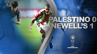 Palestino vs. Newell's [0-1] | RESUMEN | Fecha 3 | CONMEBOL Sudamericana 2021