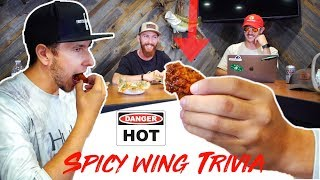 HOT WINGS TRIVIA! (PAINFUL)