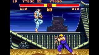 Street Fighter II Gameplay