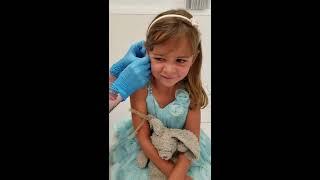 Waverly Gets Her Ears Pierced With Bunn Bunn!!!