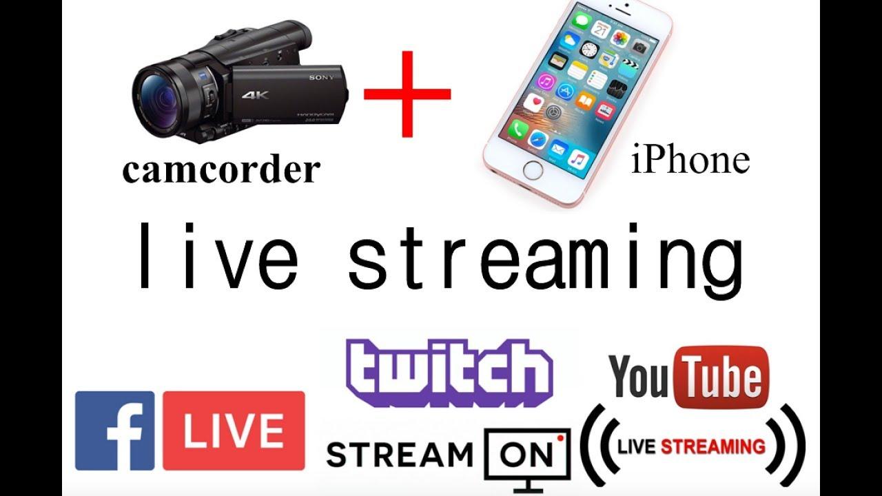 Using dslr for live streaming