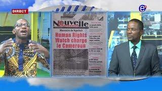 LA REVUE DES GRANDES UNES DU MERCREDI 26 FÉVRIER 2020 - ÉQUINOXE TV