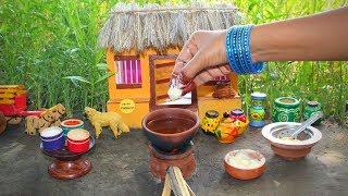 Miniature Dahi Vada | Dahi Bhalla Recipe | Miniature Cooking #45 | Mini Foodkey
