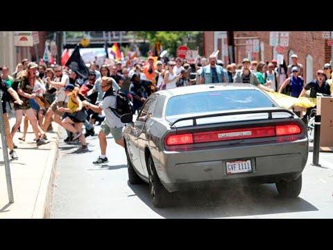 CAOS Y TERROR EN CHARLOTTESVILLE VIRGINIA EE. UU. 12.8.17 IMÁGENES IMPACTANTES